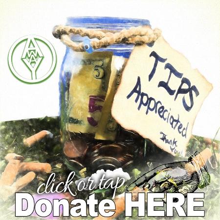 donate here tab