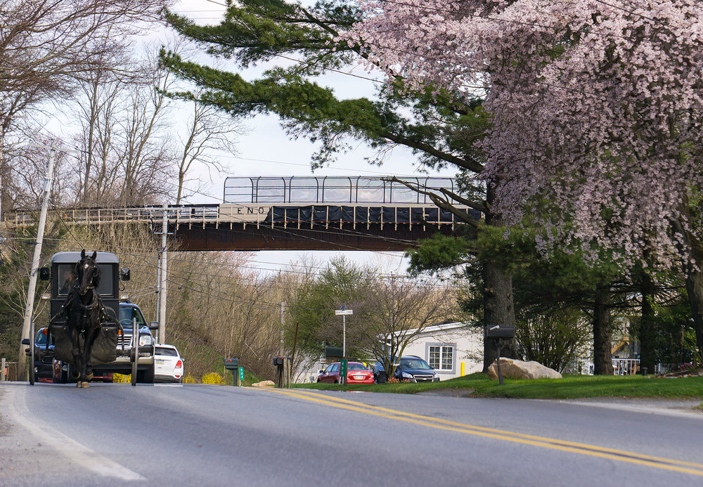 A New Bridge for the Enola Low Grade Trail - A new pedestrian bridge is opening to carry the Enola Low Grade Trail over Rt. 222 in Quarryville.