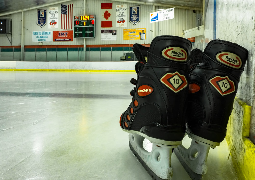 Resolve To Take The Ice - Regency Ice Rink in Lancaster brings Ice Hockey to local youths, and brings skating to the whole family all year round.