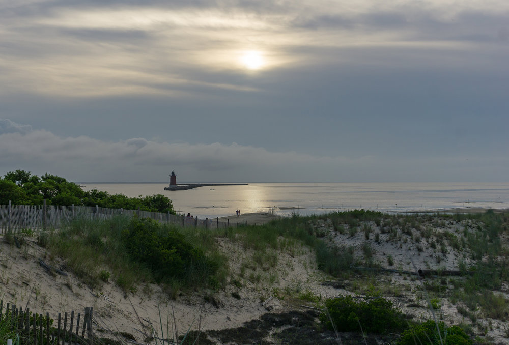 View of the Delaware Bay off Cape Henlopen