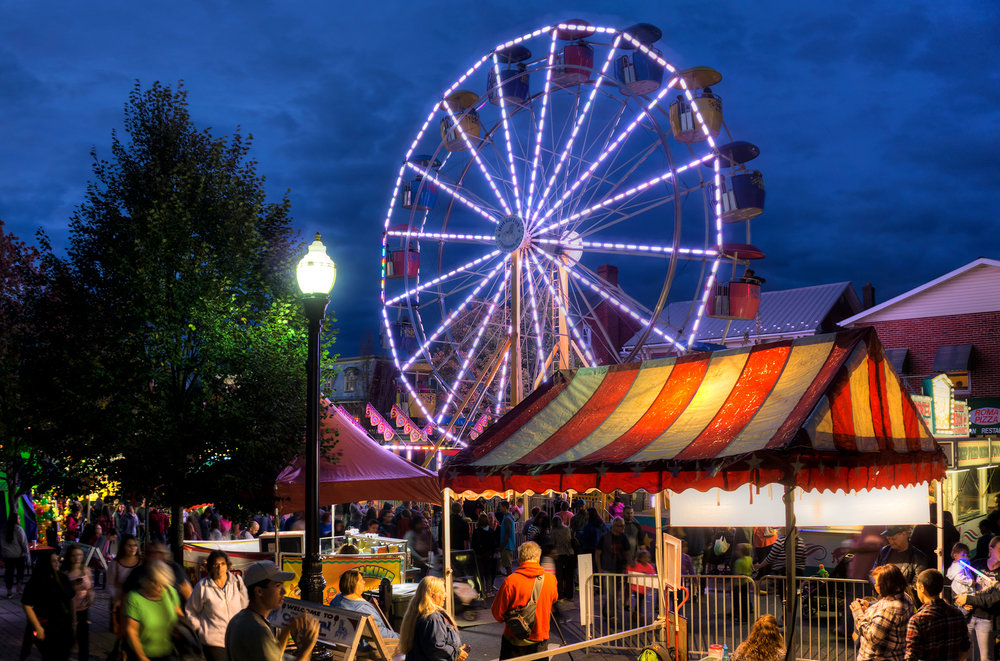 Milestone Year For The Ephrata Fair - Celebrating 100 years of fun in Downtown Ephrata. This year's fair runs from September 25-29, 2018.