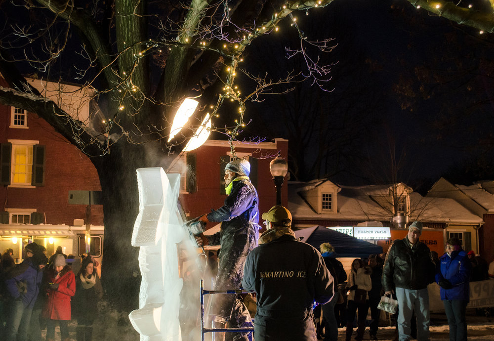 Lititz Fire & Ice Festival - Come enjoy a cool night and some hot treats during this year's Lititz Fire & Ice Festival, February 15-18.