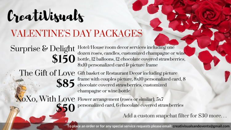 creativisualspng - Valentine Day Hotel Specials