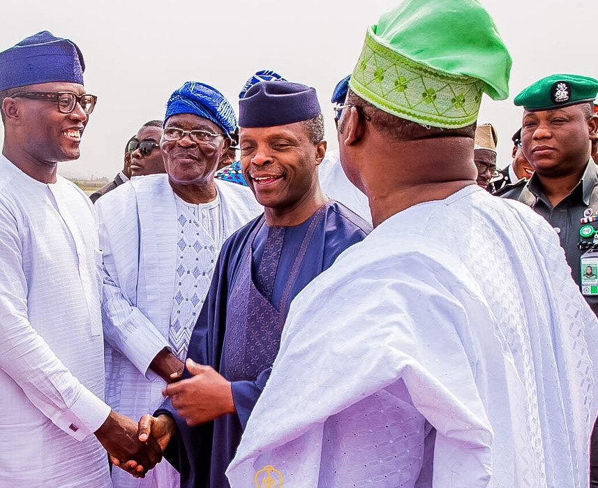 Vice-President Visits Oyo State