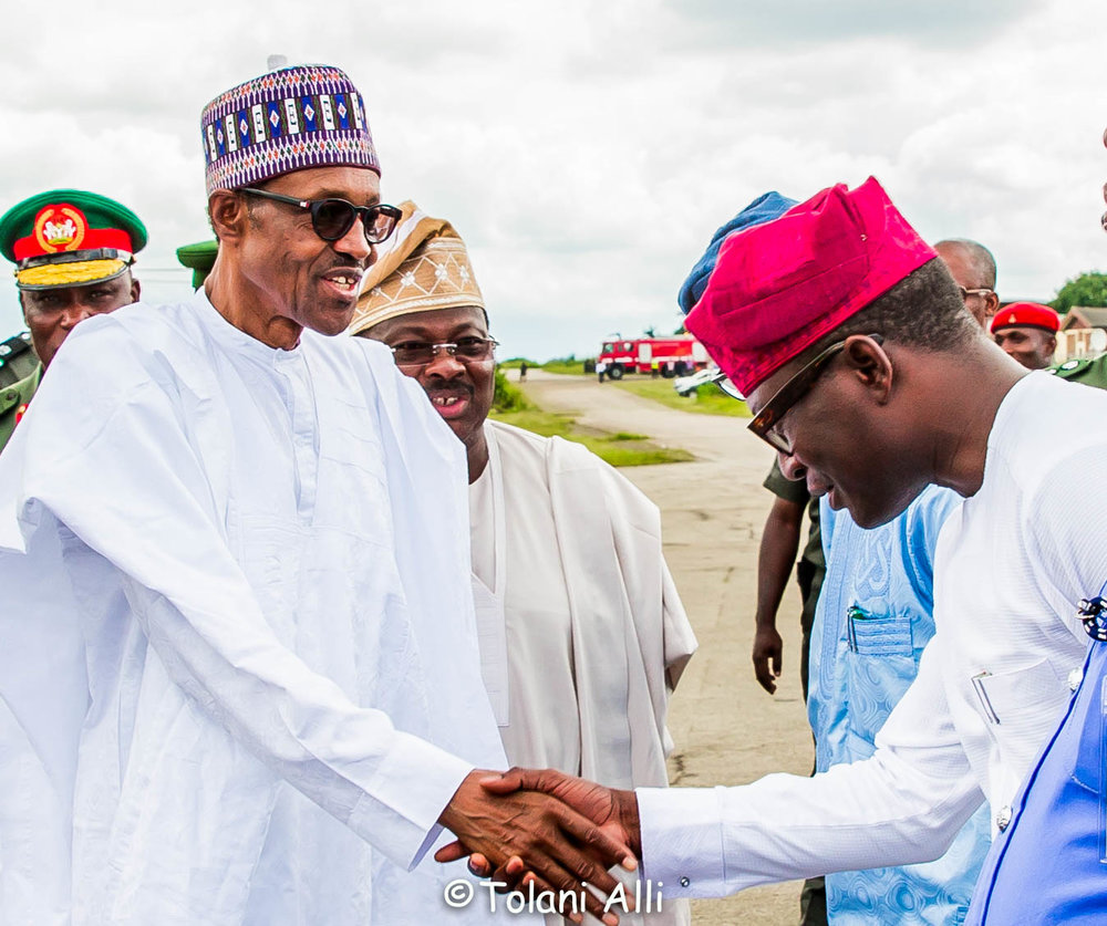 Preisdential Visit to Oyo State