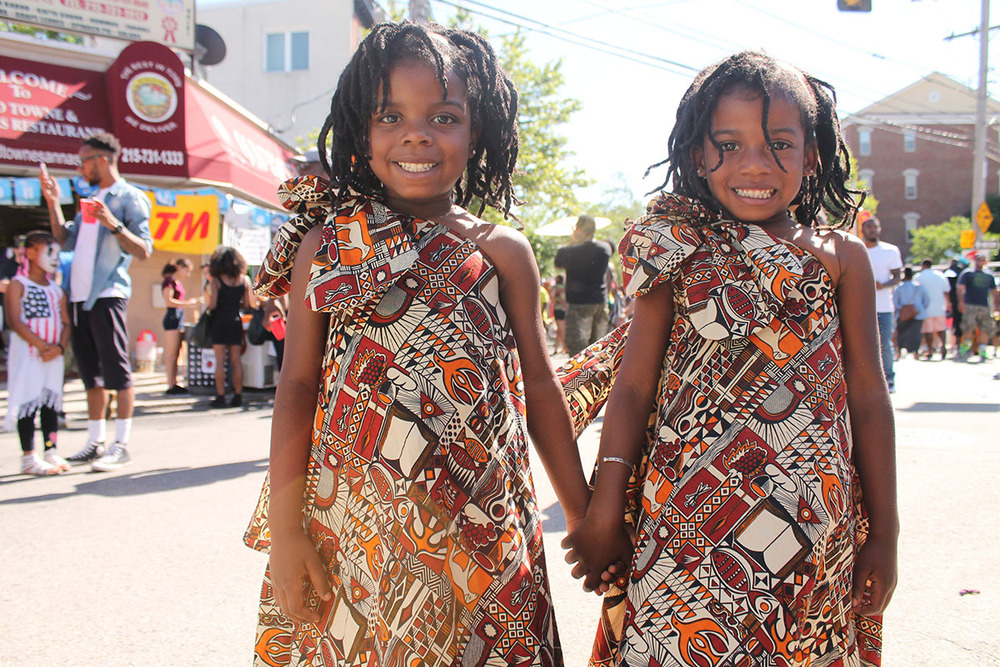 Jayla and Khai, 5, told their mom they wanted to be African princesses. They succeeded. Photography by Sofiya Ballin.