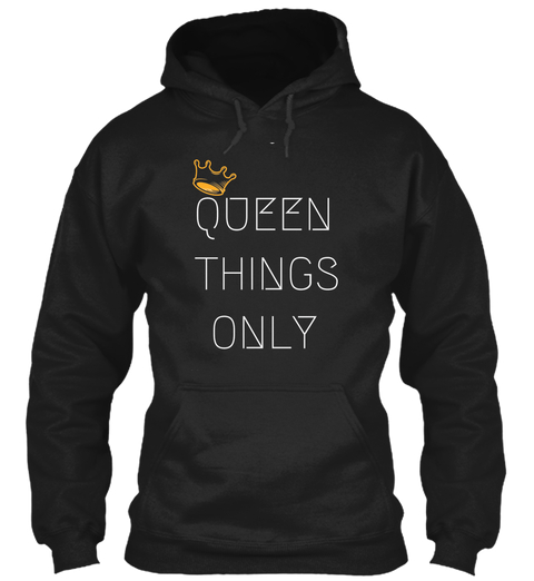 FEEL and BE ROYAL - Black - With just a few weeks left in the 2018, you're crushing your goals and knocking out those plans that will LEVEL UP your 2019!Rep your QUEENDOM in your #QueenThingsOnly top at the holiday kickback, office party, or city festival.