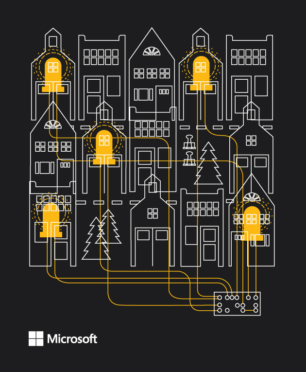 Microsoft | Design + Illustration