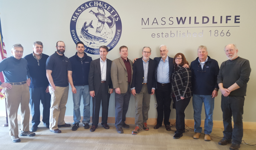 From Left to Right: Bruce Osterling, TU; Bill Pastuszek, TU; Jason Stolarski, TWE, Adam Kautza, TWE; Mark Burton, TU; Todd Richards, TWE; Jack Buckley, TWE; Gary Crago, TU; Mike Rosser, TU; Warren Winders, TU.
