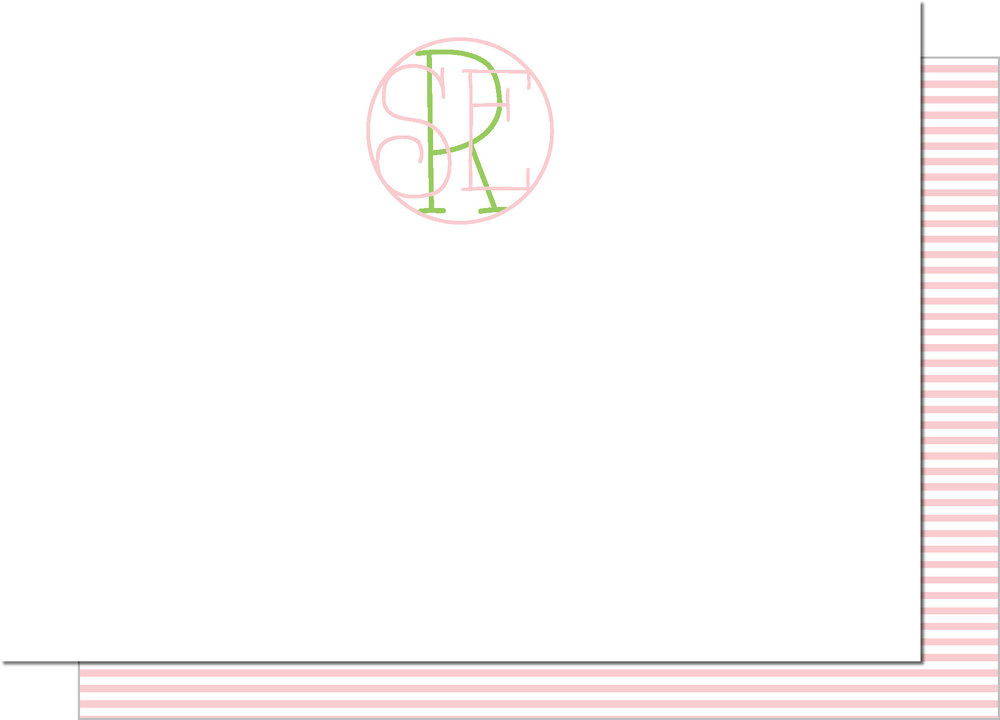 KD7163NC-PB Delicate Monogram