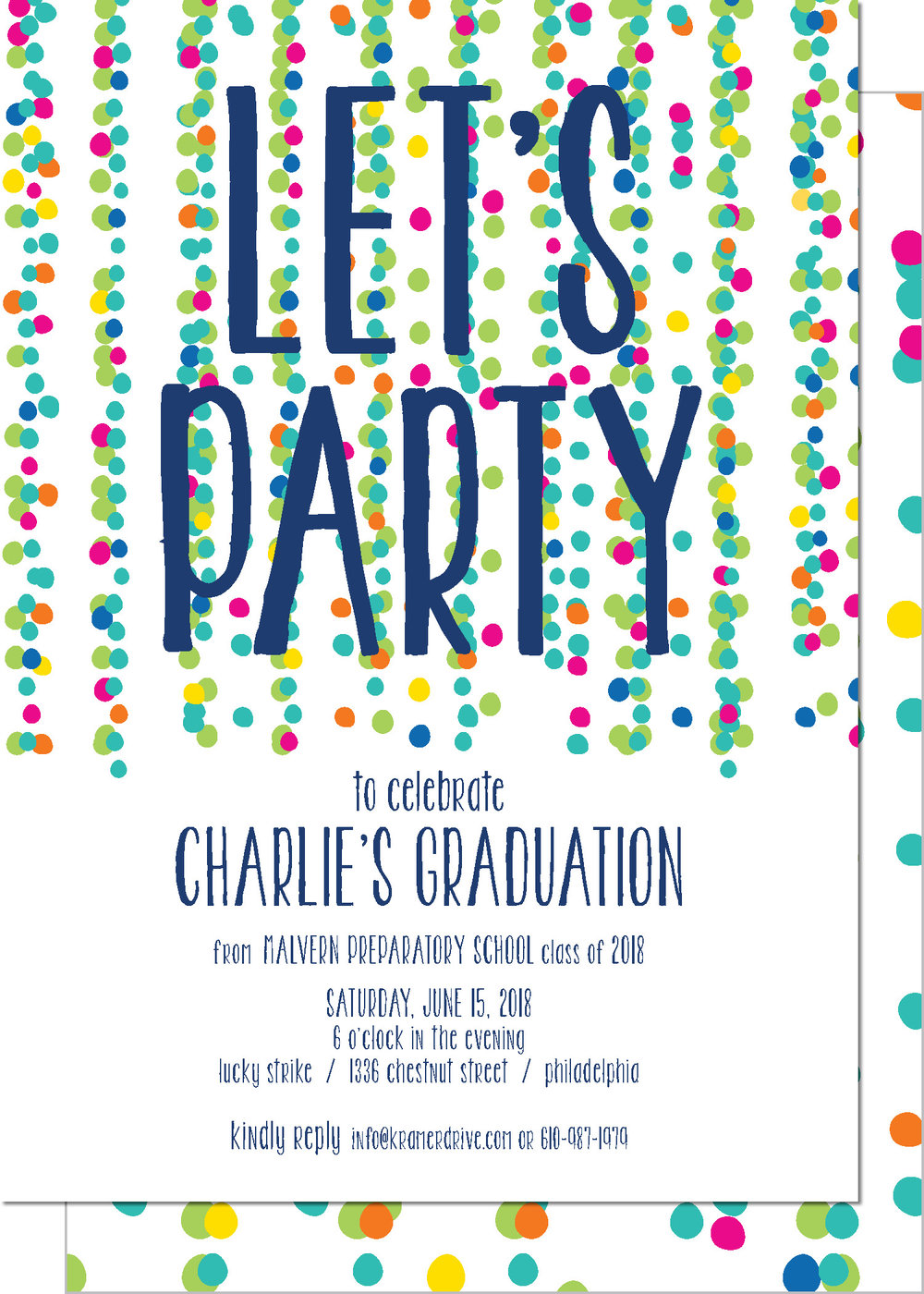 KD9029AIN-PB Party Streamers