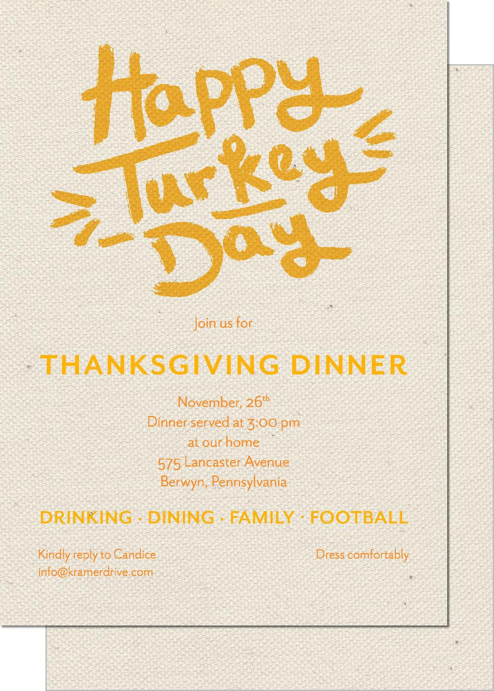 KD9103IN-PB Turkey Day