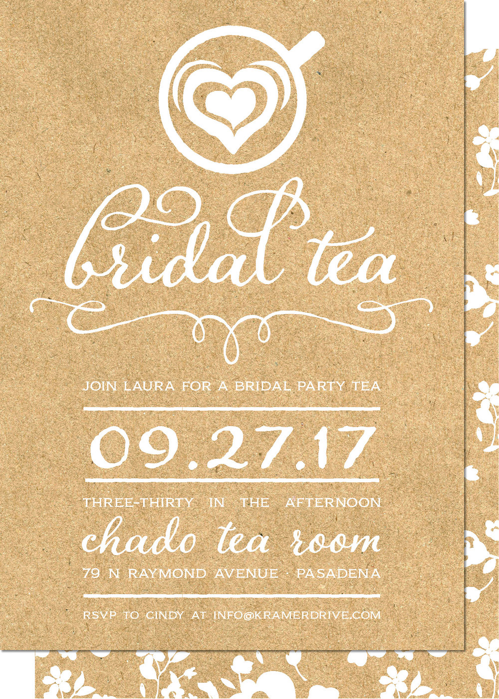 KD2135IN-PB Bridal Tea