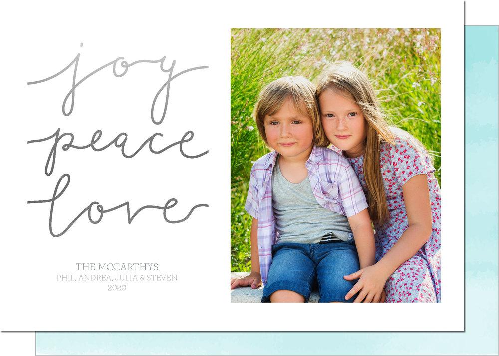 KD5235IN-PB-FOIL Joy Peace Love