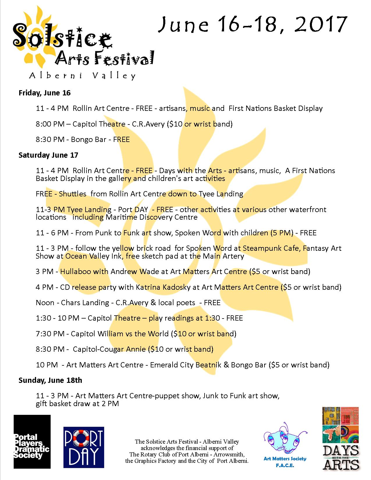 events u2014 the community arts council of the alberni valley
