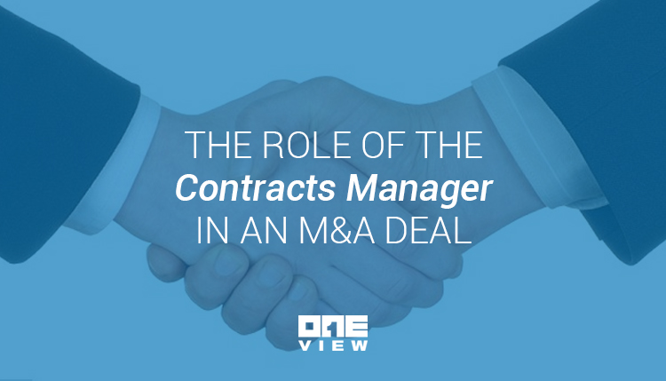 The Role of the Contracts Manager in an M&A Deal-2
