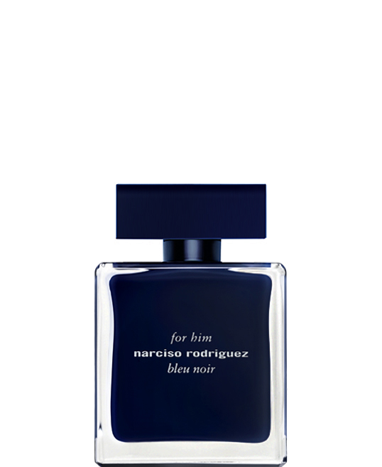 for him bleu noir  Refined and pure, for him bleu noir is an elegant and mysterious eau de toilette. The distinctive musk at its core is intensified with hints of nutmeg and a touch of blue cedar. A seductively smart scent, this eau de toilette will always be timeless.