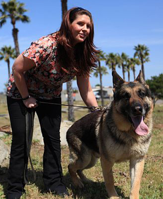 The true story of Rex and his handler Cpl. Megan Leavey is the subject of a new film, Megan Leavey. Read an excerpt about this fierce duo from Nancy Roe Pimm's new book, Bonded By Battle.
