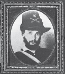 August Bondi in the Fifth Kansas Infantry.