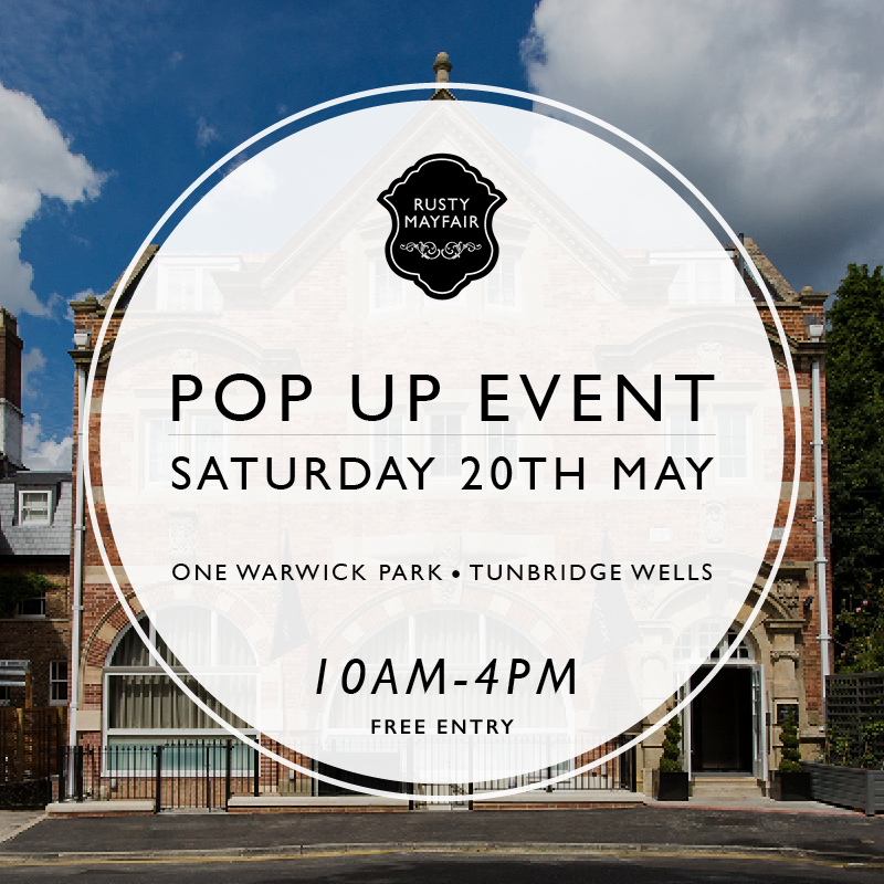 We'll be showing our latest collection at a pop up event in Royal Tunbridge Wells this Saturday. Join us from 10am till 4pm at One Warwick Park Hotel where we'll be joining other small local businesses.   Address: 1 Warwock Park, Royal Tunbridge Wells, Kent, TN2 5TA