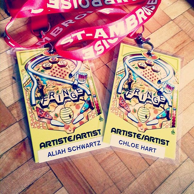 #cornstarch2016 opens on Friday! We are ready and waiting with our Fringe Artist passes.  #fringebuzz #mtldanse #montrealdancers #fringemtl