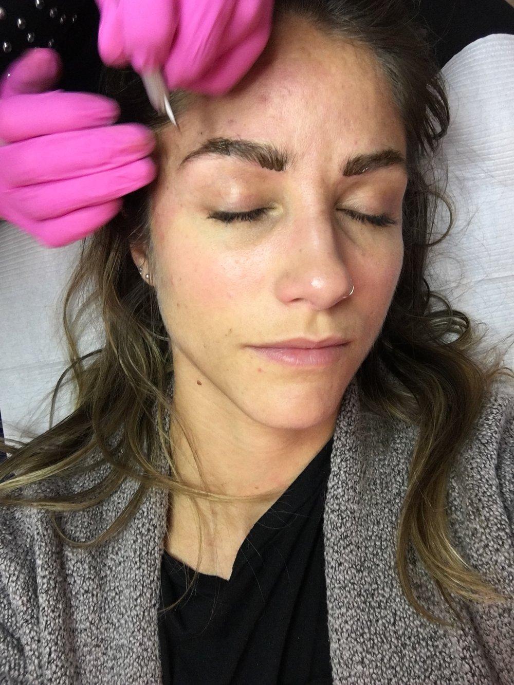 microblading, sourcils, épilation sourcils, sourcils permanents, nanoblading, maquillage permanent, france laflamme esthetique, esthétique rive-sud de montréal, amélie delage, maquillage