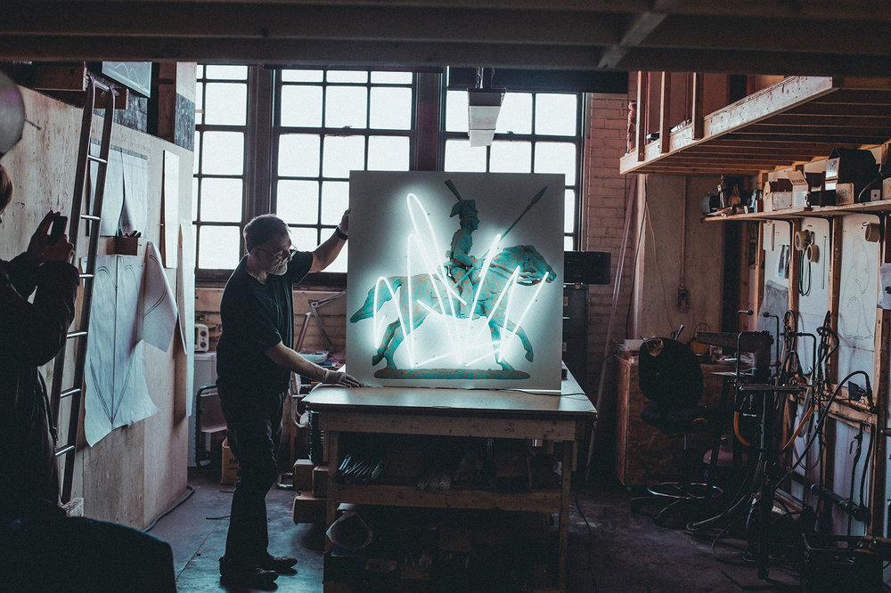 alan ganev, vernissage alan ganev, station 16 gallery, republik, manny photographe, art montreal