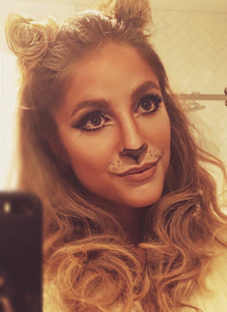 costume halloween, idées halloween, halloween montreal, cat makeup, maquillage chat, halloween chat