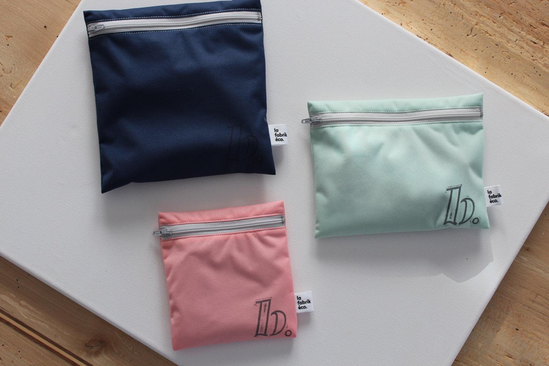 beauties, léa bégin, sac réutilisables, sac sandwich réutilisables, ziploc réutilisables, cadeau écologique, fabrik eco, dans le sac, bulk bag, sac vrac, sac à pain