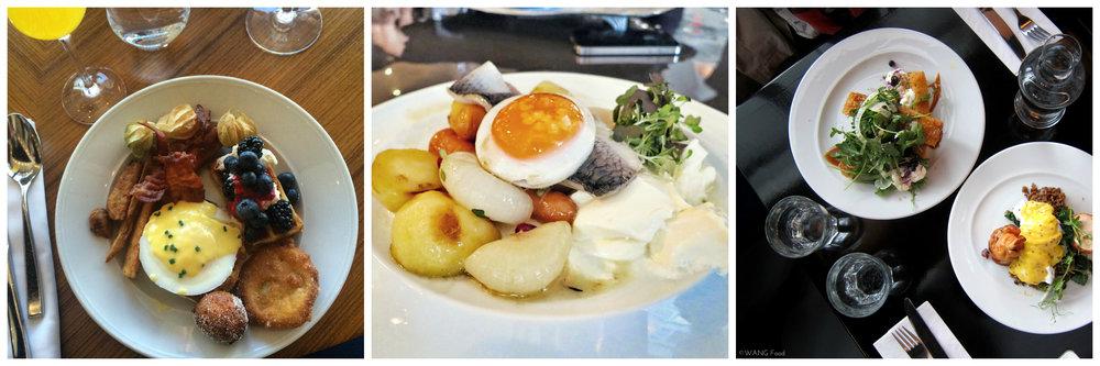 Crédit photo (gauche à droite) :  Cerises & Gourmandises , mtlfoodsnob et  Eat with Eva
