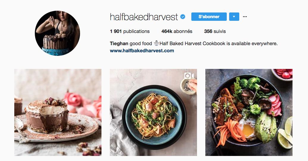 half baked harvest, food instagram, food photography, food magazine