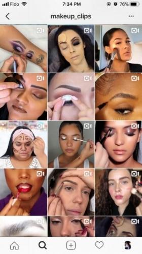 makeover , instagram , social media , millennials ,  makeup , beauty industry , instagram makeover