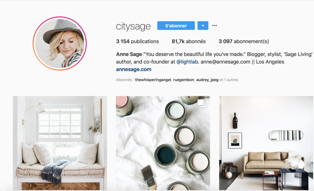 best home decor instagram accounts , decor instagram , decor , best decor , element de base , one kings lane , simplygrove , ashley stark , citysage , ritagli creativi , budri , dwell , decor magazine , decor blogger , home styling , décoration , meilleurs comptes instagram de décoration , styliste d'intérieur , interior designer , interior design , architecture
