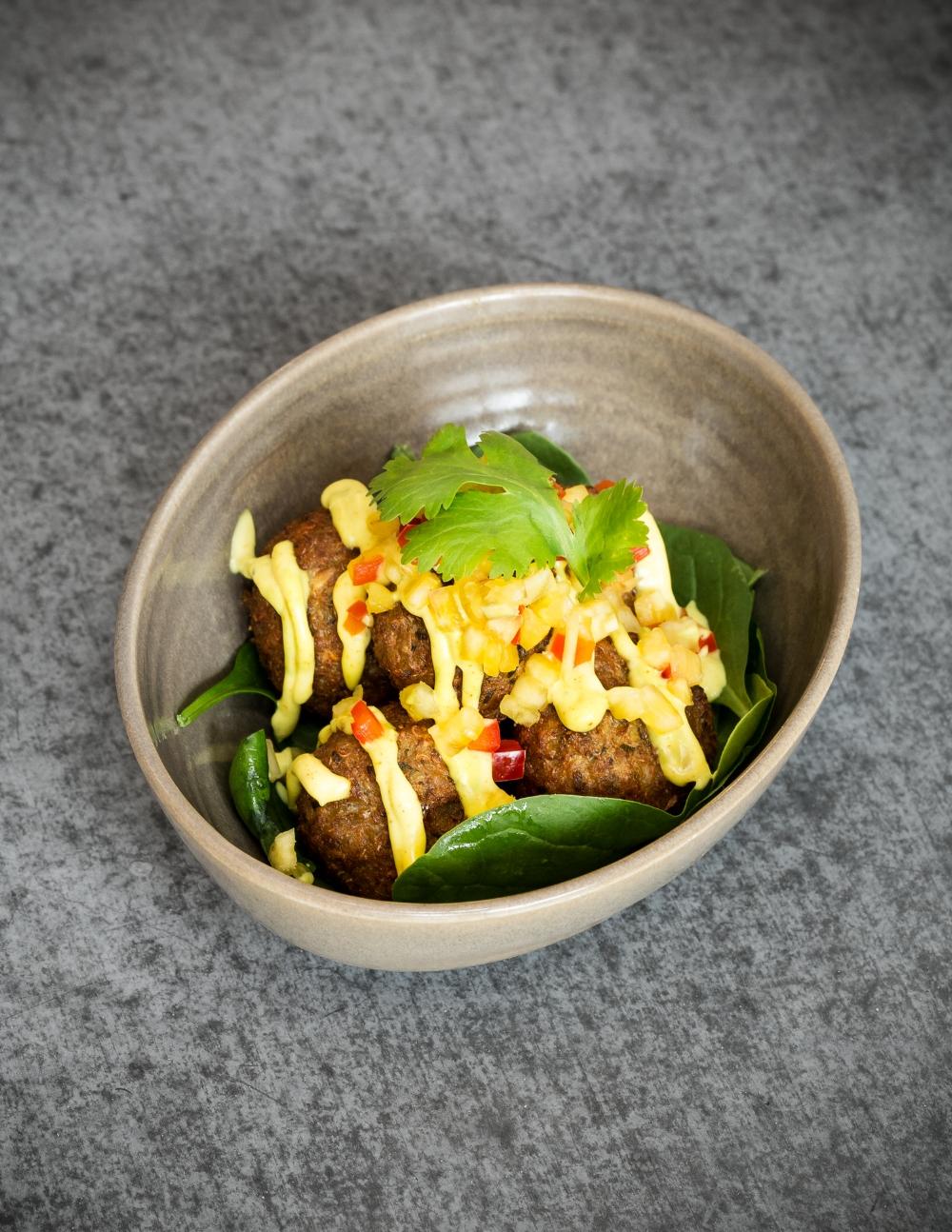 Crédit photo : Kéven Poisson - Croquettes de Quinoa (Fried quinoa balls)