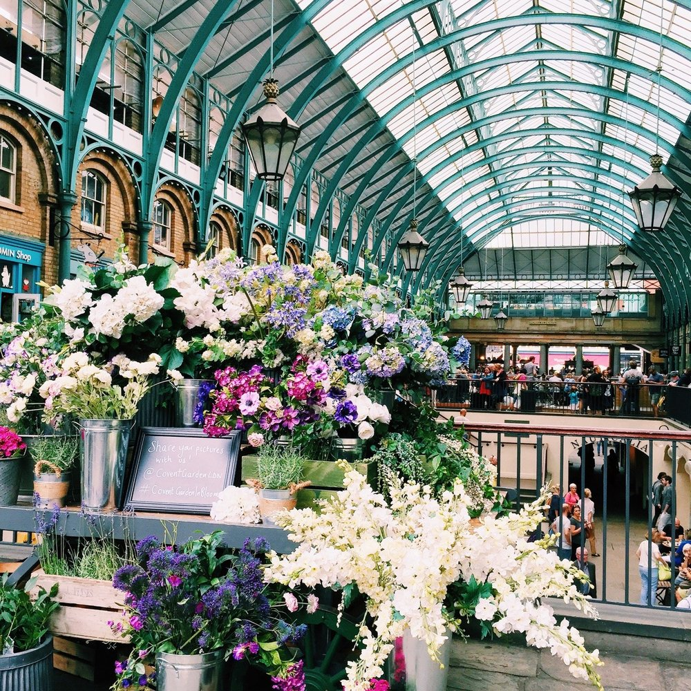 Covent Garden - Photo credit:  Tumblr.