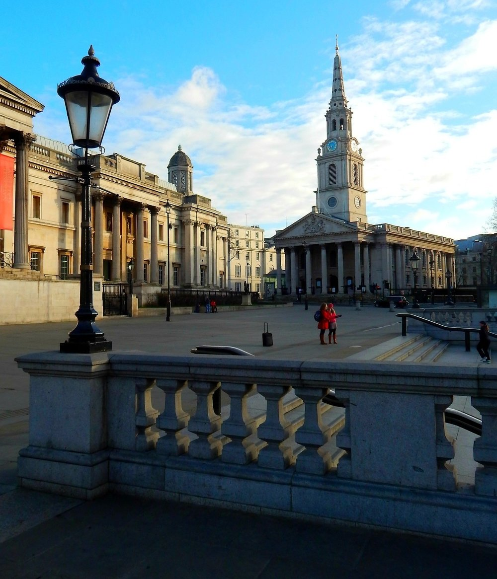 Trafalgar Square - Photo credit: Tumblr