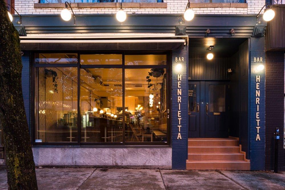 Bar Henrietta - Crédit photo:  Tastet