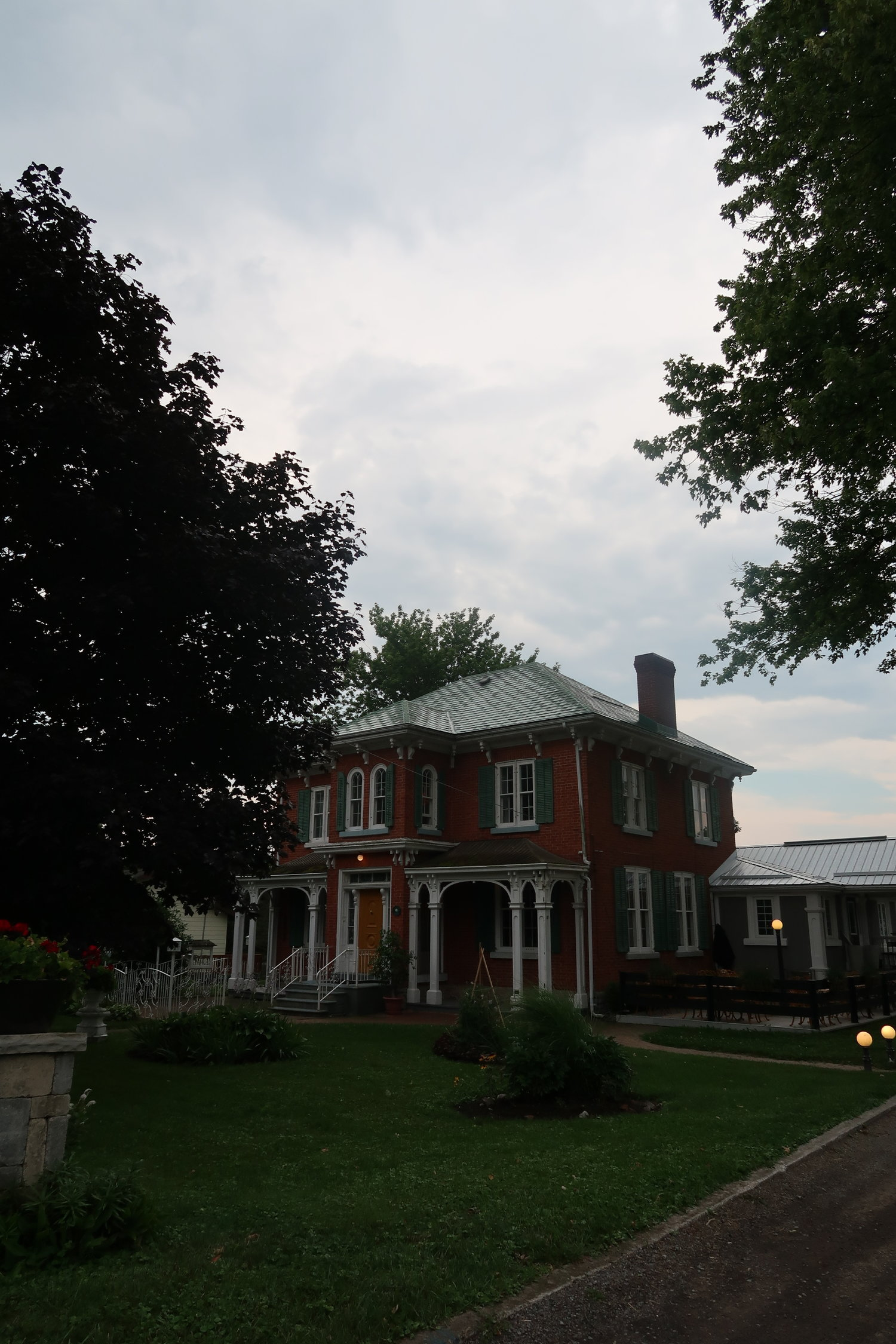 angeline's inn, prince edward county, seedlings