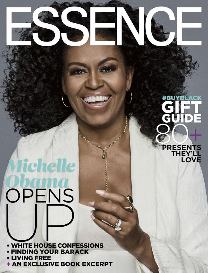 Crédit photo: https://www.essence.com/news/michelle-obama-essence-cover-december-january/
