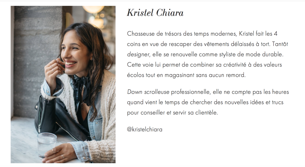 Profil Kristel Chiara