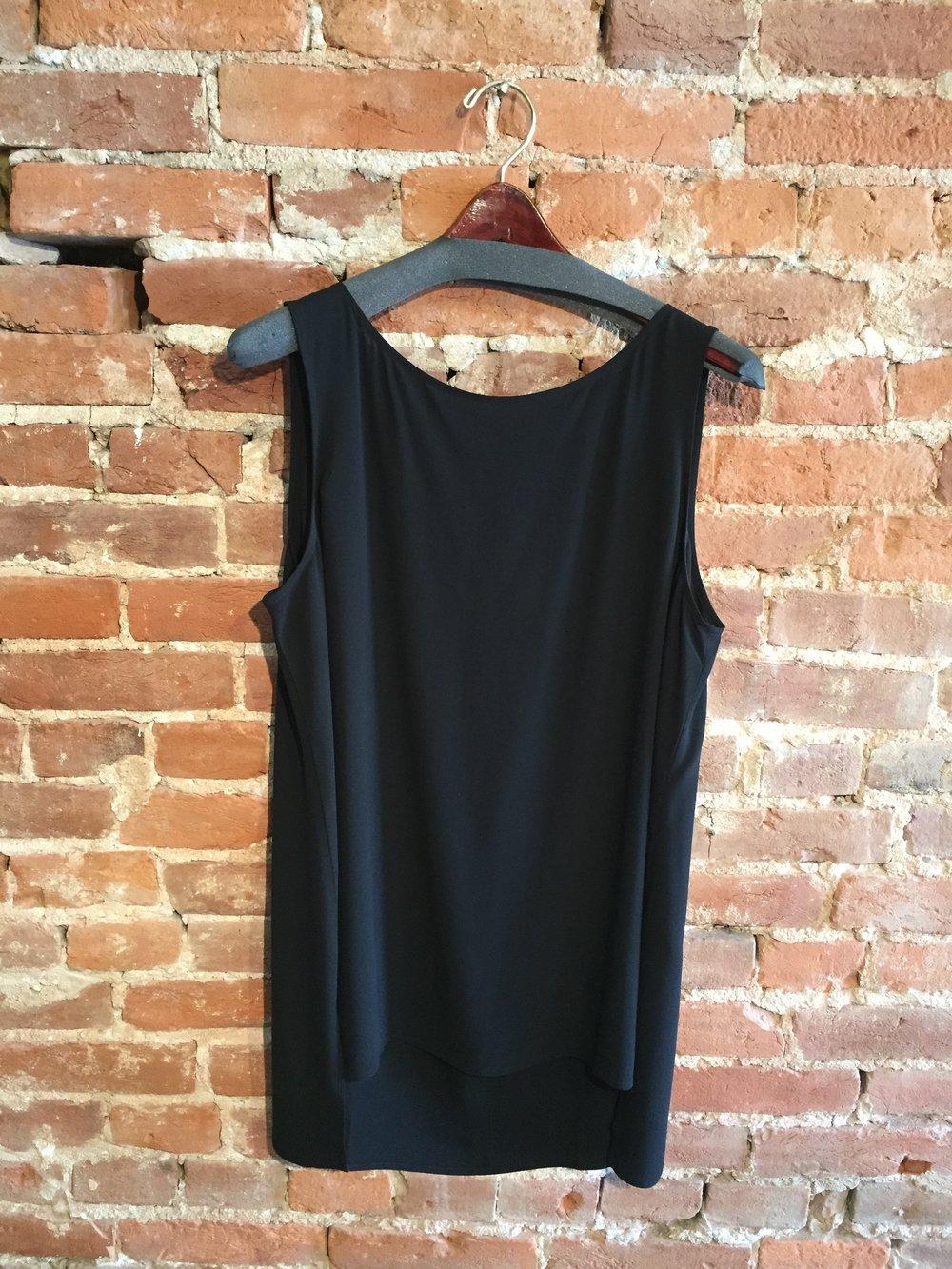 7d1587dae7e Eileen Fisher Bateau Neck Long Shell — Mirror Image Fashions