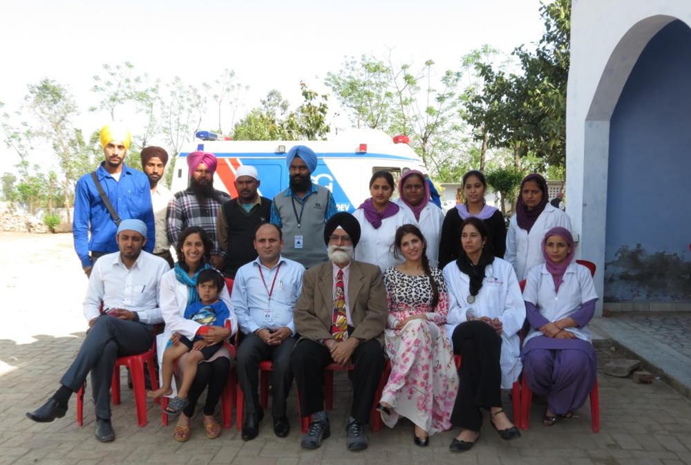 MARCH 2014 - Marhana, Tarn Taran, Punjab, India Medical Camp