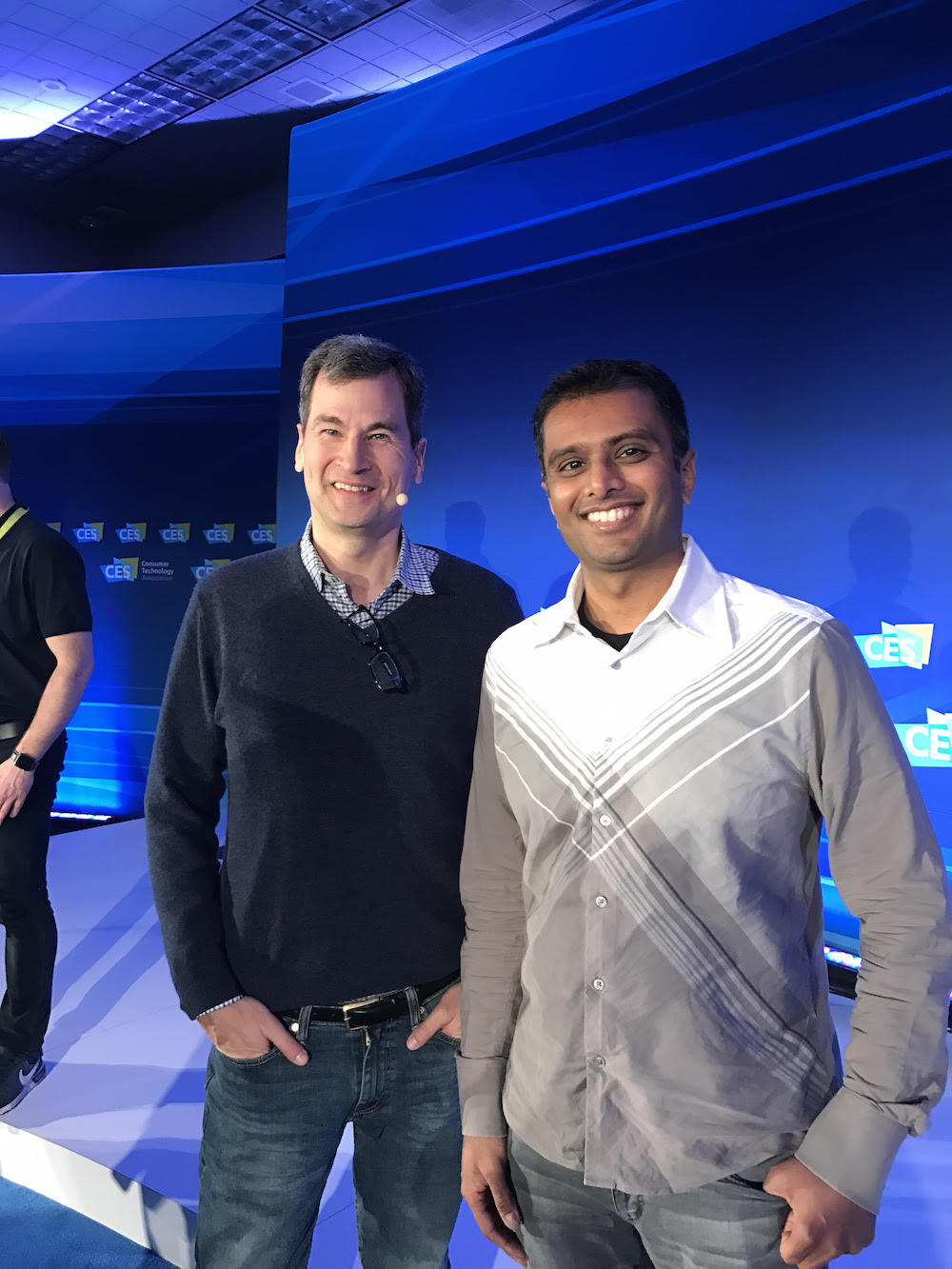 David Pogue, Founder of Yahoo Tech, and Ignition Design Labs' own Vinit Modi