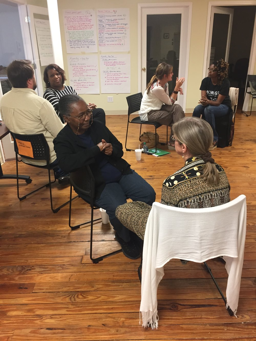 Participatory program evaluation with the Mississippi Low-Income Childcare Initiative.