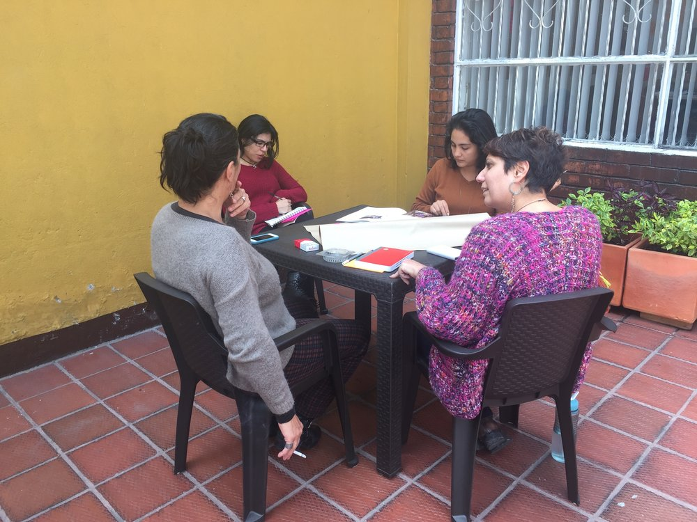 Strategic planning with the Urgent Action Fund for Women's Human Rights - Latin America.