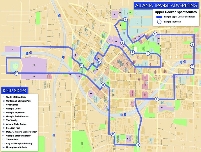 ATLANTA TRANSIT MAP