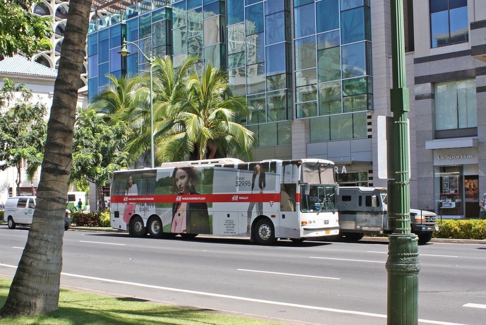 HONOLULU CLOSED-TOP DOUBLE DECKERS