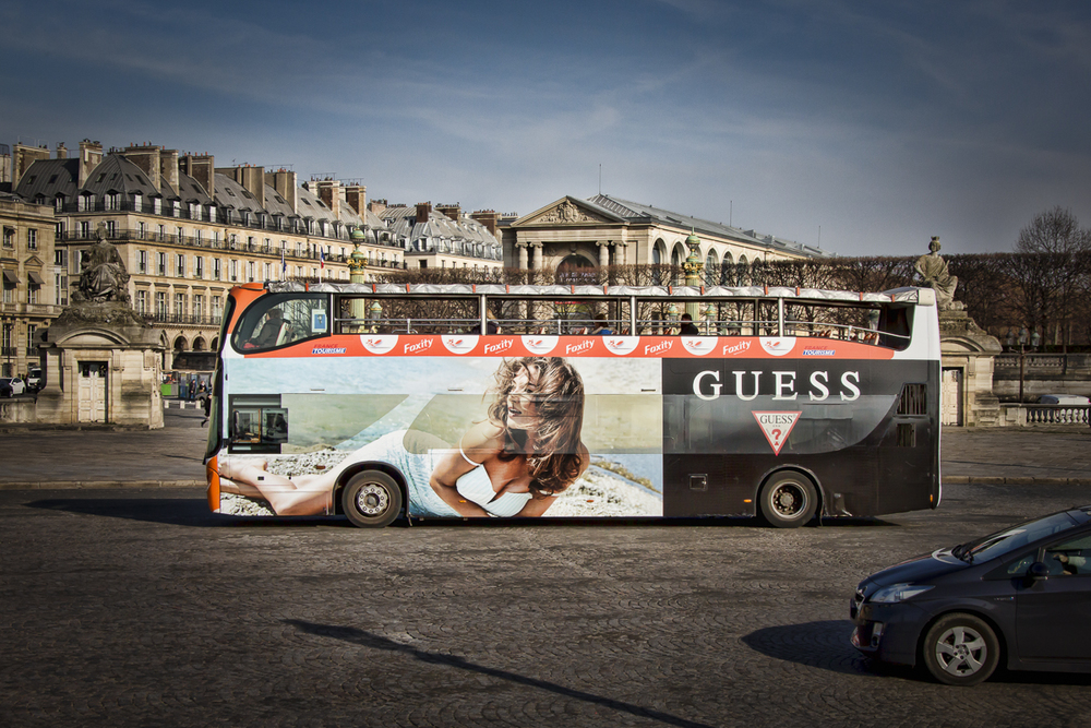 PARIS DOUBLE DECKERS