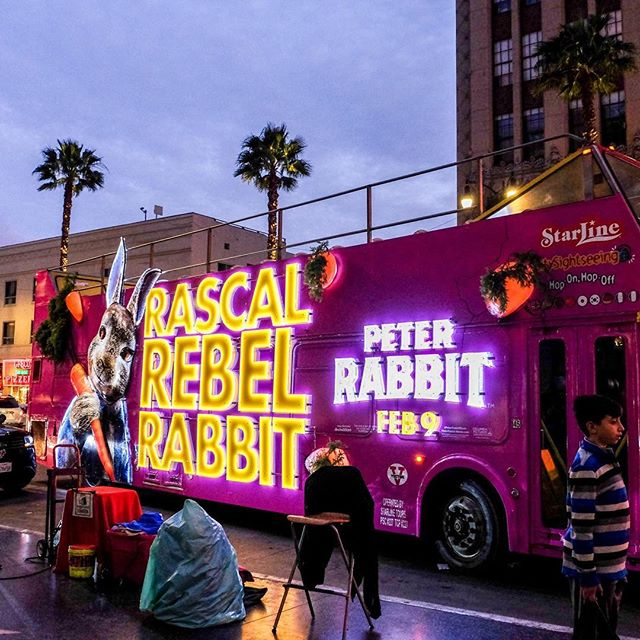 Very into this awesome creative for @peterrabbitmovie — they utilized our illumination and 3D embellishments to create this #OOH masterpiece!
