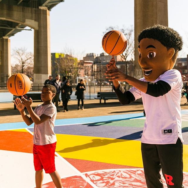 Playing ball with @bigtennetwork in Queens, NY this week. #B1G #B1GTourney #Experiential